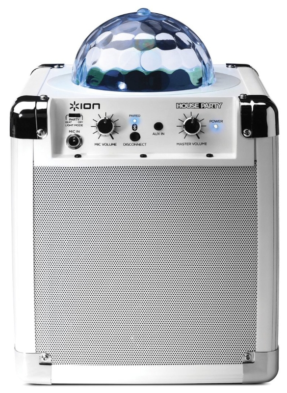 Portable Sound System with Built-In Light Show