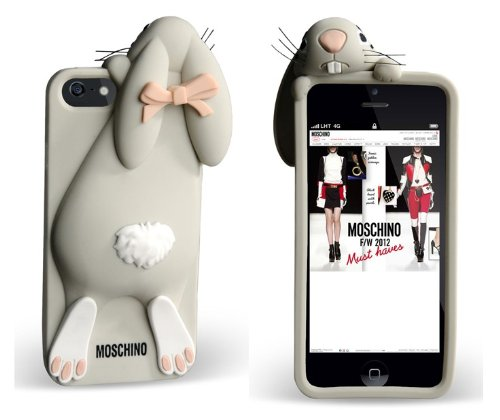 Rabbit Bunny Silicone Back Cover Case for Iphone 5 5S 5G