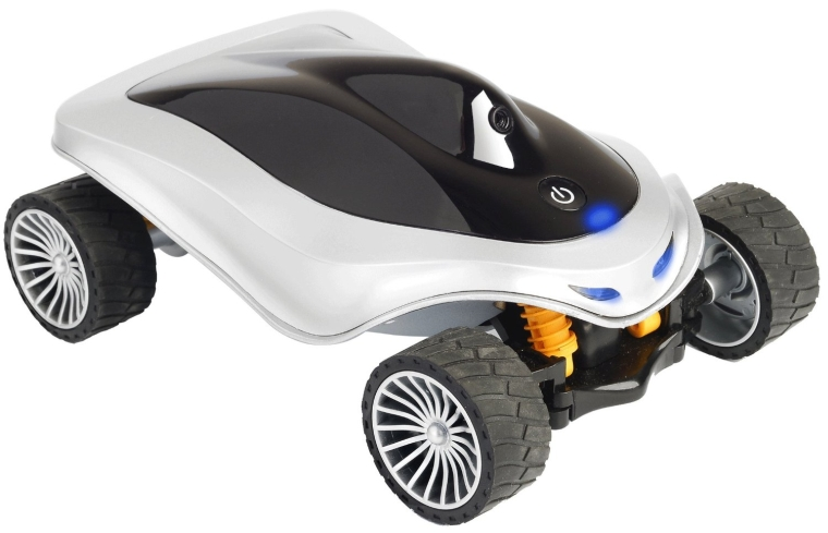 Remote Racer Car App-Controlled Wi-Fi Spy Car - Sports Full-Color Camera Video Capture