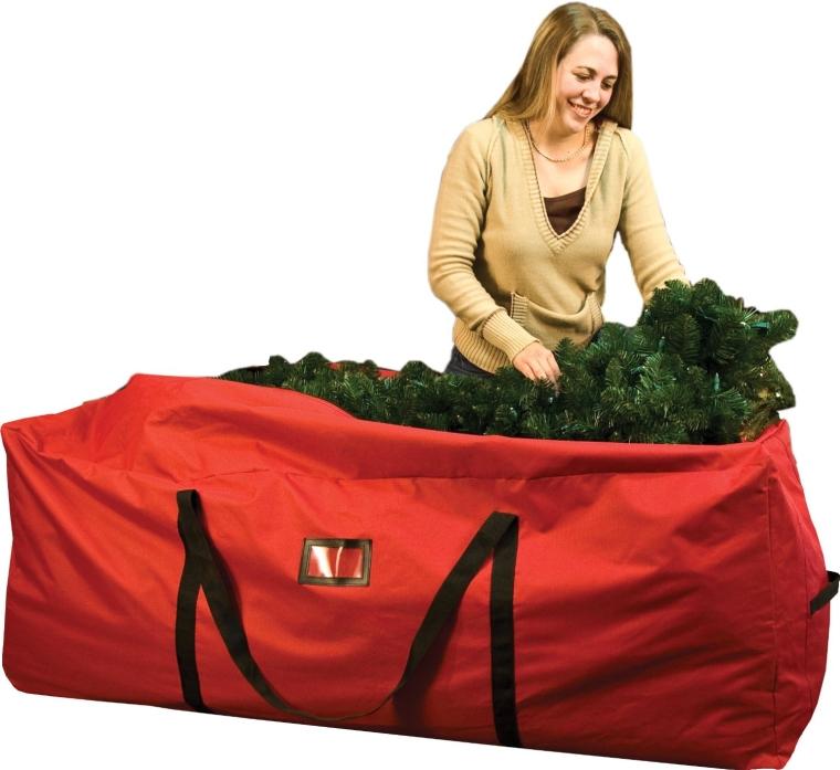 Santas Bags Rolling Tree Storage Duffel