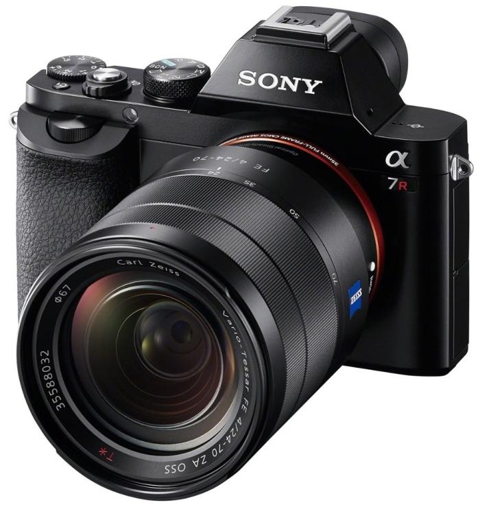 Sony a7R Full-Frame 36.4 MP Interchangeable Digital Lens Camera