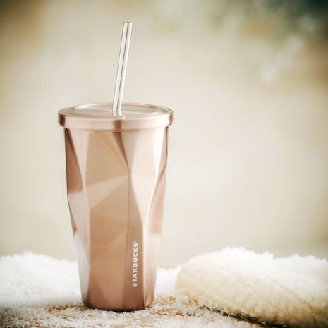 Starbucks Stainless Steel Cold Cup Rose Gold