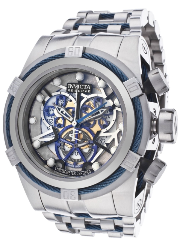 Subaqua Analog Display Swiss Quartz Silver Watch