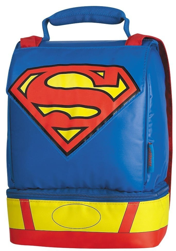 Superman Dual Compartment with Cape