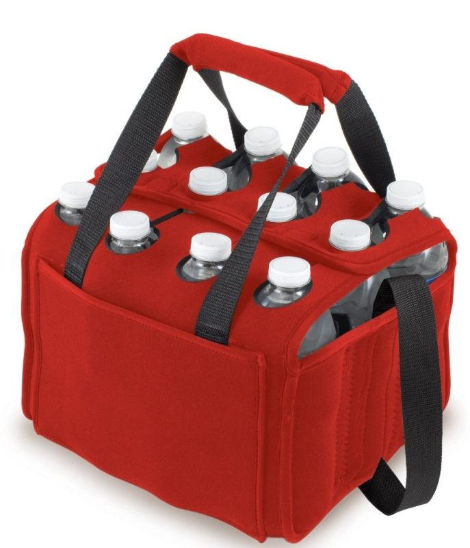 Twelve Pack Insulated Beverage Tote