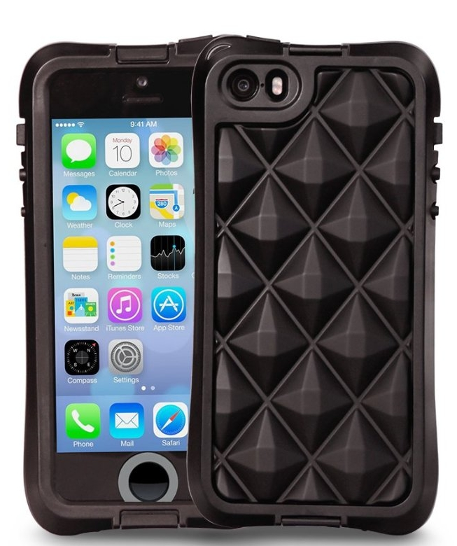 Water Resistant Case with Air Cushion Design for iPhone 55S