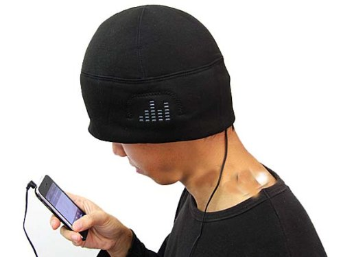 Winter Beanie Cap Hat With Headphone Earphone