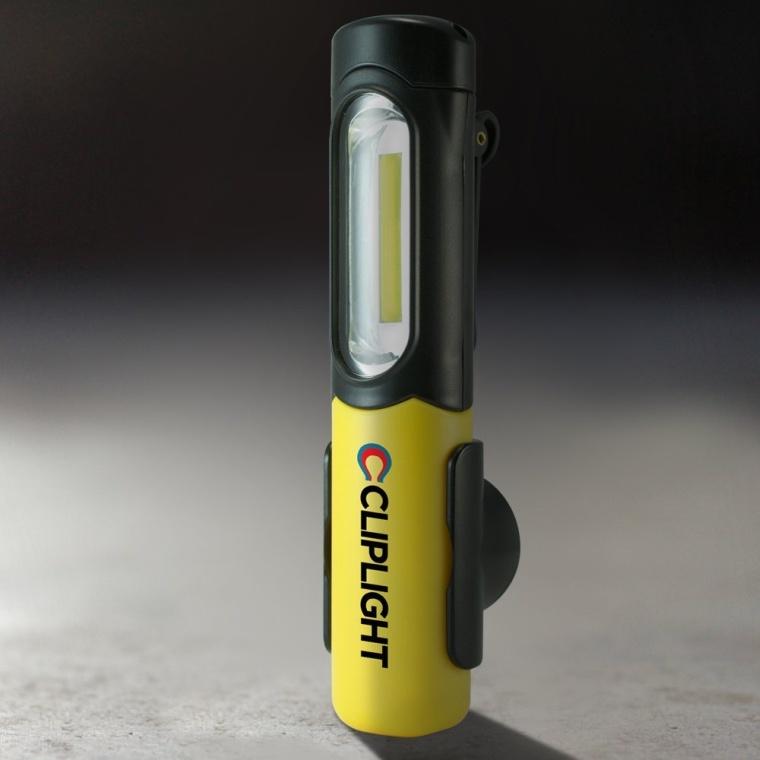 Cliplight Clipstrip Aqua Flashlight LED