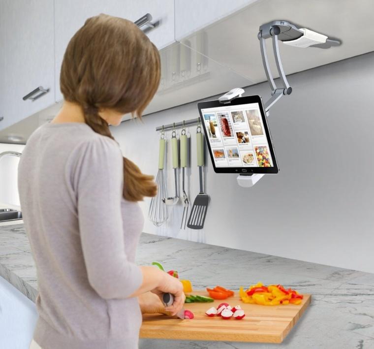 Digital 2In1 Kitchen Mount Stand