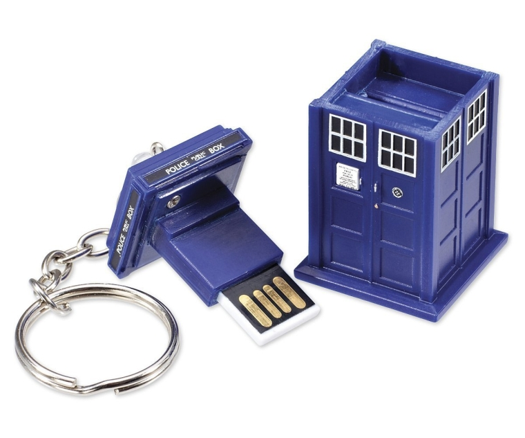 Doctor Who Tardis 8GB USB Drive Key Chain