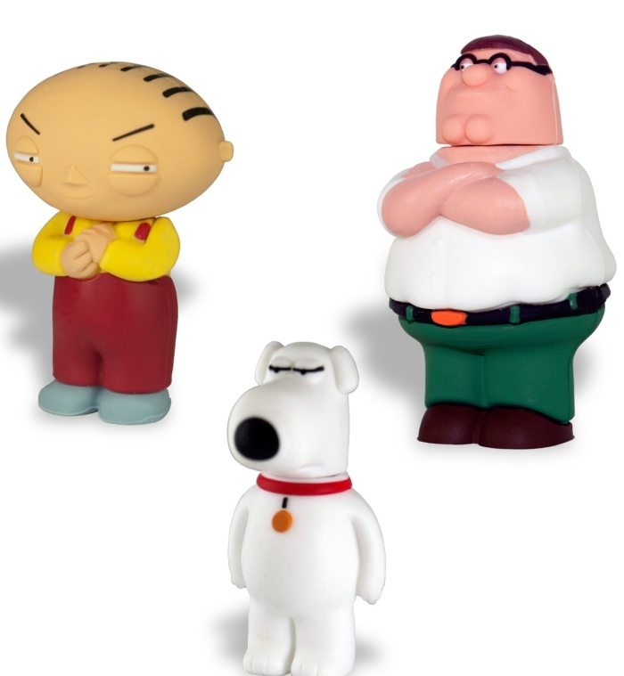 Family Guy 3 Pack 8GB USB Flash Drive