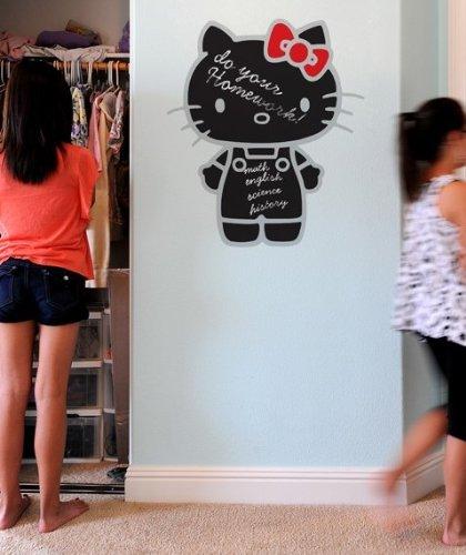 Hello Kitty Chalkboard ReStik Wall Sticker Set of 2