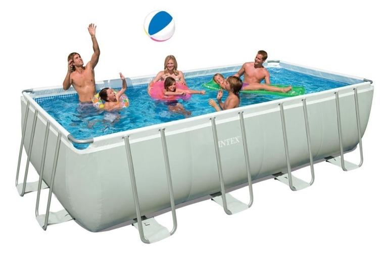 Intex Rectangular Ultra Frame Pool Set