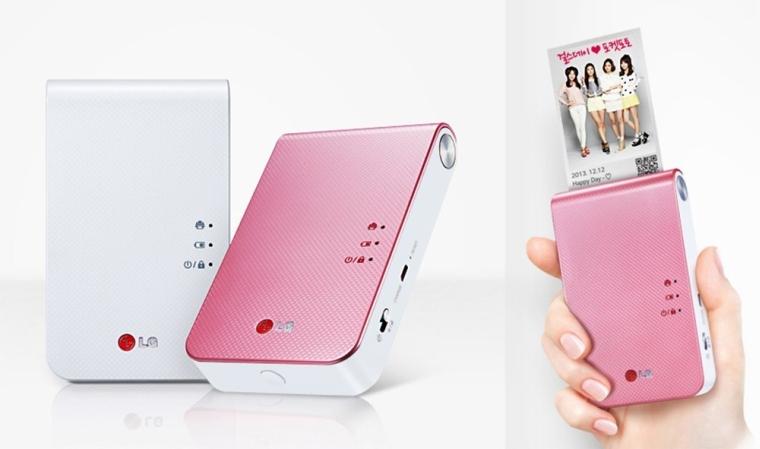 LG Pocket Portable Photo Printer