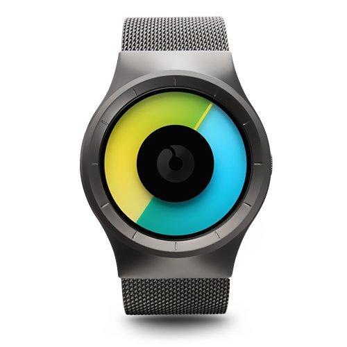 Mens Celeste Gunmetal Colored Watch