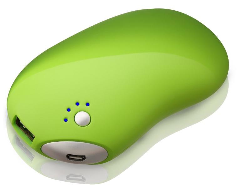 Plemo Tek Magic Bean 5200mAh Portable External Battery Pack