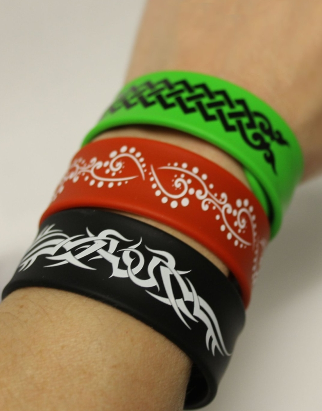 Plugable Wrist Snap Band With Hidden 8GB USB Flash Drive