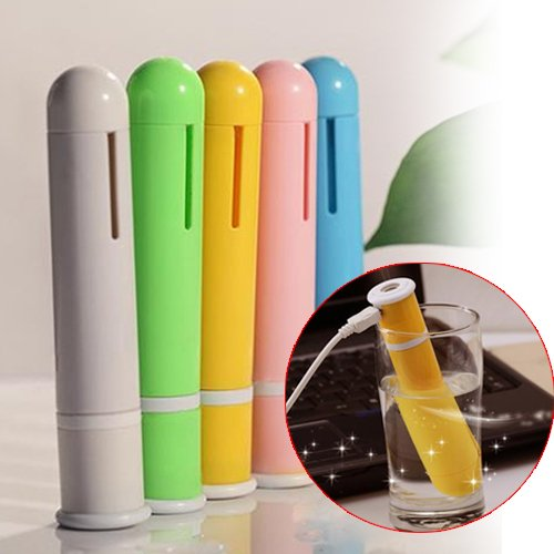Portable Mini Candy Color USB Tube Shaped Air Humidifier