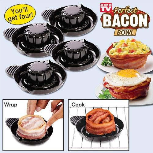 Set of 4 Perfect Bacon Bowls