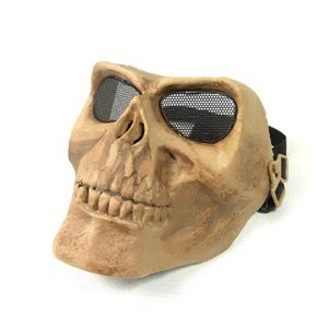 Skull Shaped Full Face Protective Safety Mask Cover