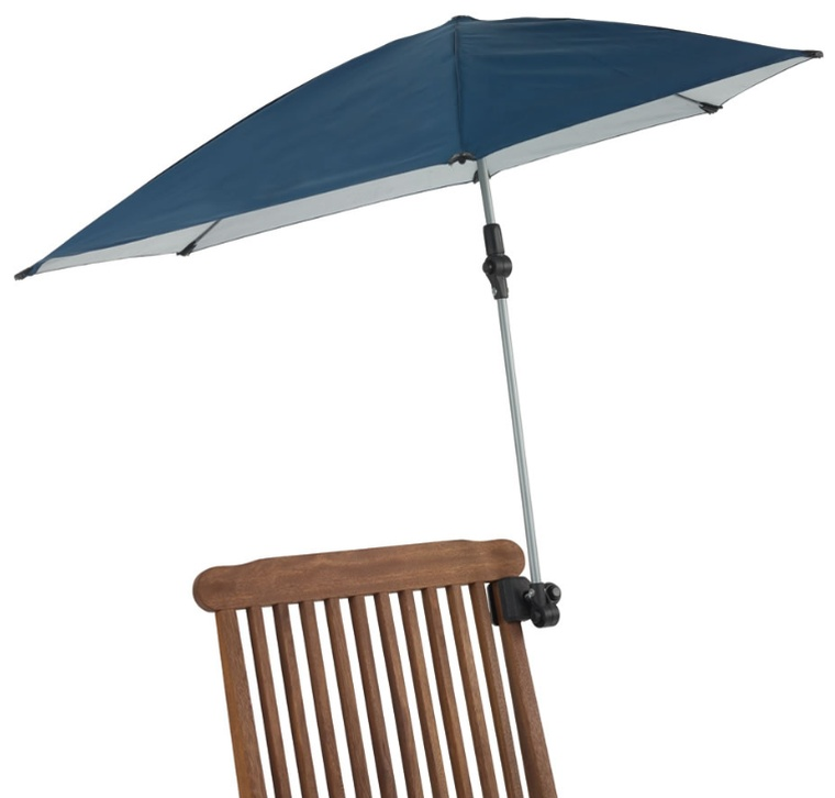 The Portable Clamp-On Sun Umbrella