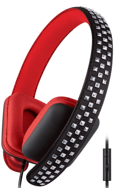 Urban Beatz Rocked Studded Headphones