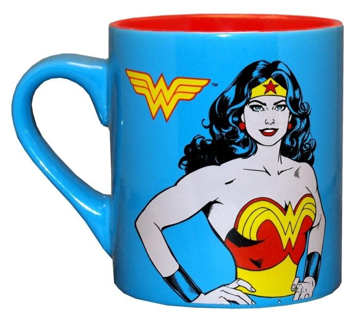 Wonder Woman Superhero Ceramic Coffee Mug