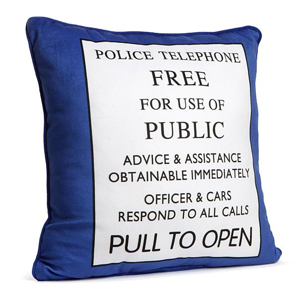 pillowDoctor Who TARDIS Pillow