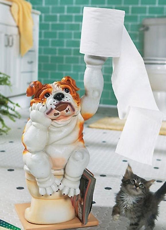 Bernie Bulldog Tp Holder