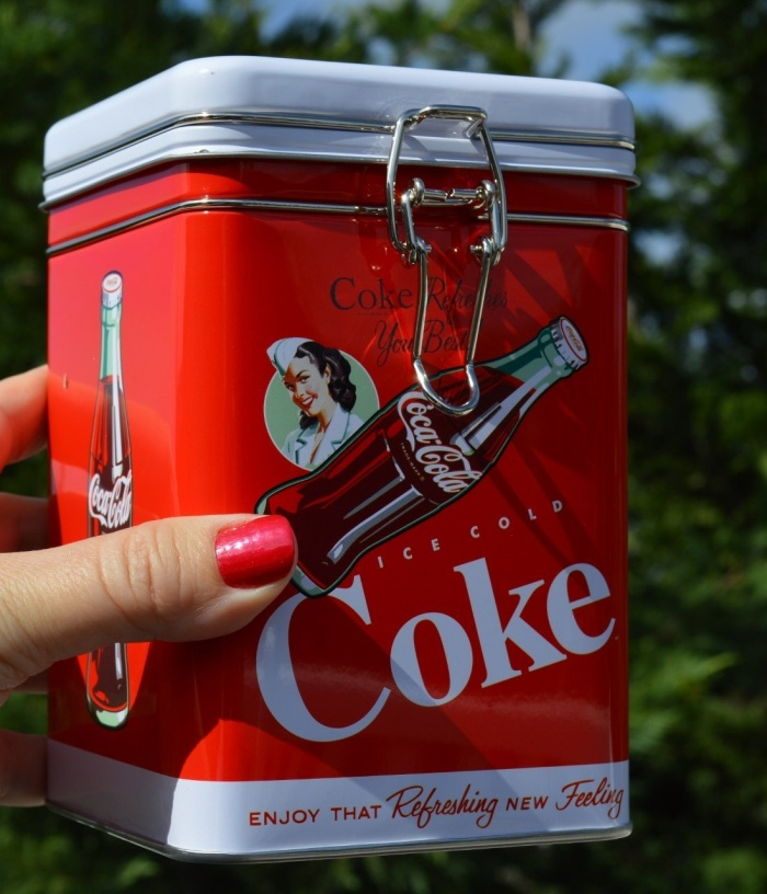 Coke Kitchen Storage Jar Canister