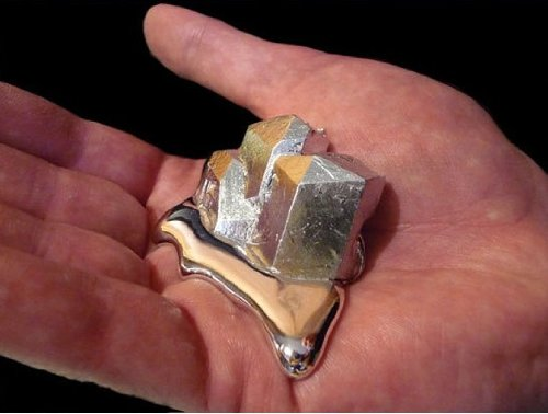 Gallium 99.99 Pure 20 Grams 4n Even Melt in Your Hand