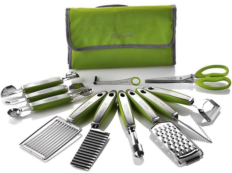 Garnish Essentials Set with Storage Case