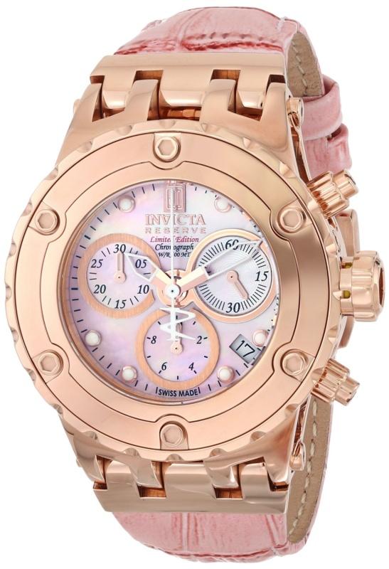 Invicta Womens Swiss Quartz Pink Watch
