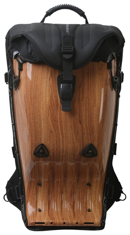 Meg-Aero Backpack Wood Pattern