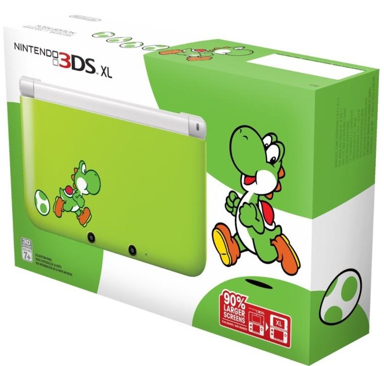 Nintendo 3DS XL - Yoshi Edition