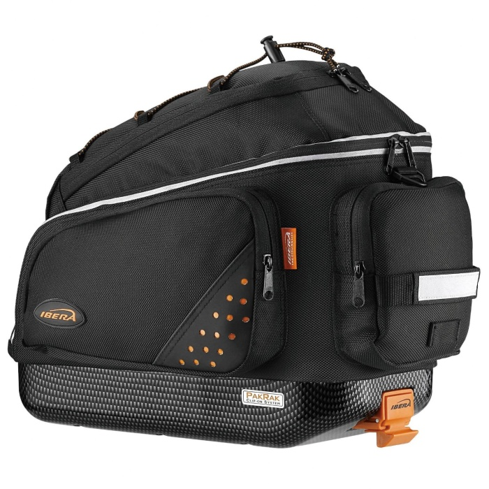 PakRak Bicycle QuickRelease Commuter Trunk Bag