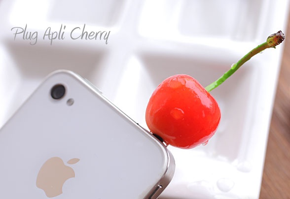 Plug Apli Food Sample Earphone Jack Accessory