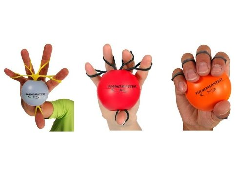 Plus 3 Piece Physical Therapy Hand Exerciser