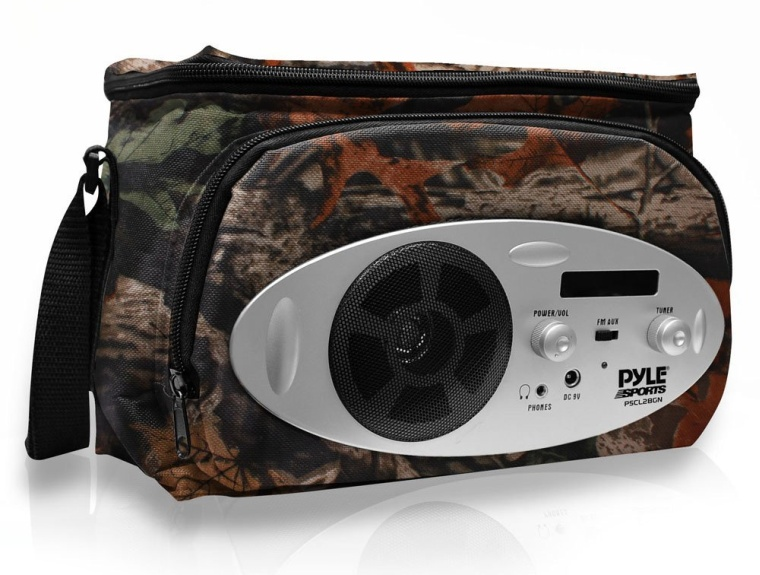 Pyle Cooler Bag with Built in AMFM Radio