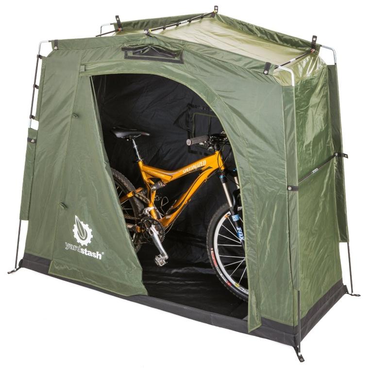 Space Saving Outdoor Bike Storage
