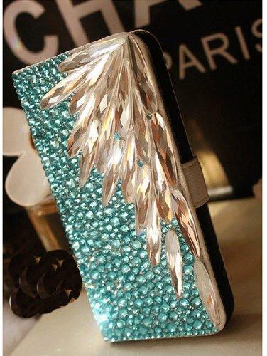 Sword Design 3D Swarovski Crystal Bling Case Cover