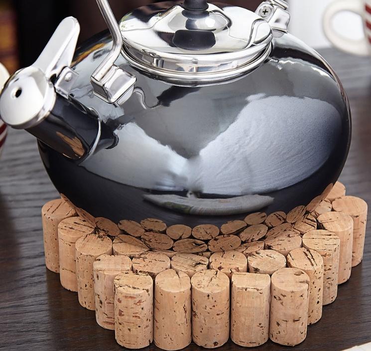 Tres Chic Wine Cork Trivet