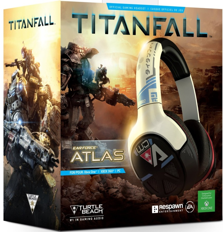 Turtle Beach Titanfall Ear Force Atlas Official Gaming Headset