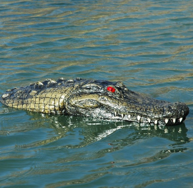 Airstone Floating Alligator Marker
