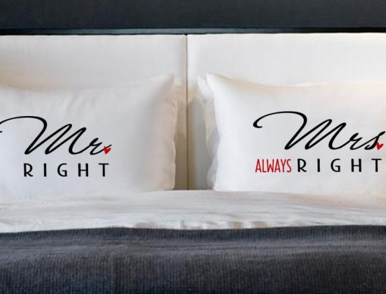 Couples Pillowcases