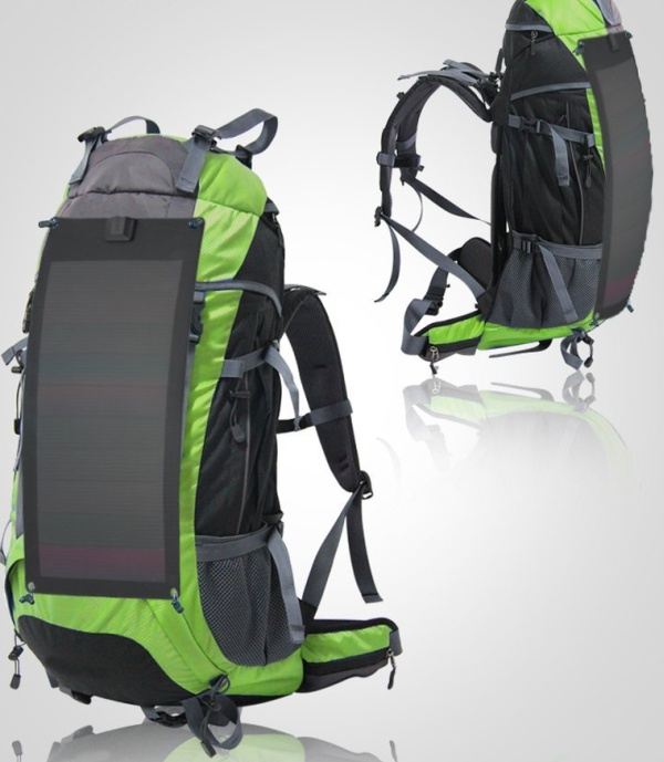 FlexSolar flexible solar backpack