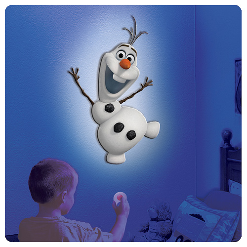 Frozen Olaf the Snowman Talking Room Light