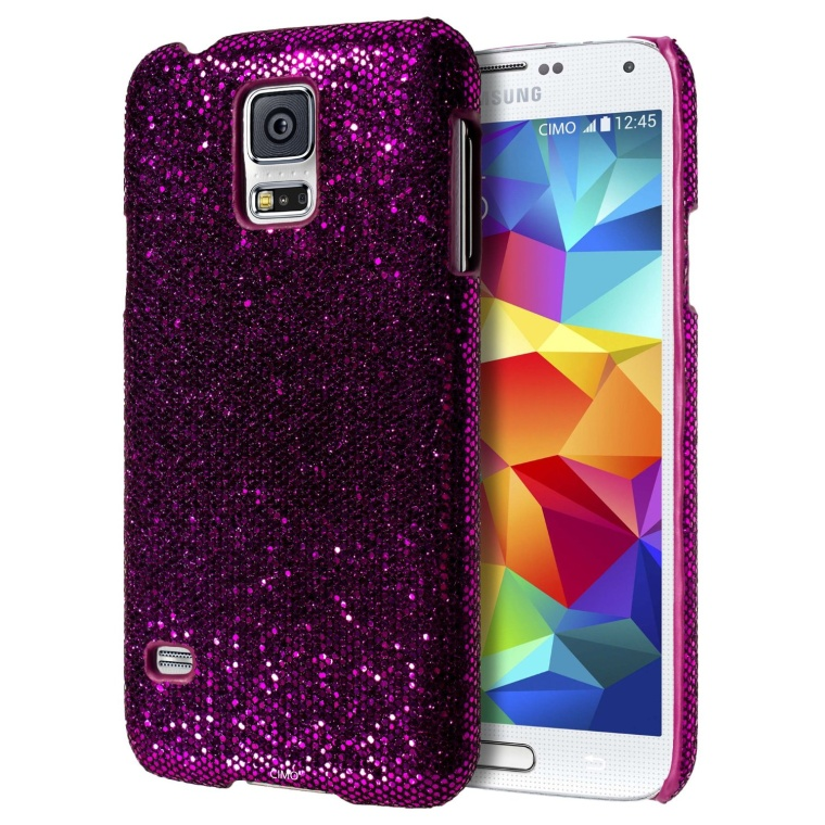 Glamour Glitter Bling Hard Cover for Galaxy S5