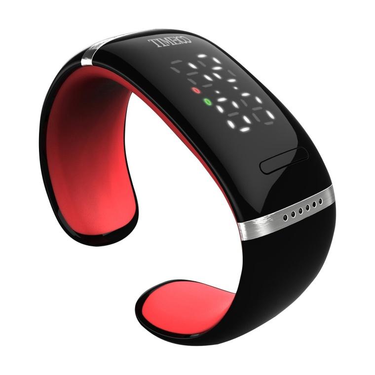 LED Display Fashion Smart Phone Red Bracelet Watch
