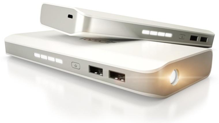 Portable High Capacity Dual-Port External Battery Pack